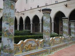 Napoli Santa Chiara chiostro