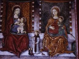 amatrice di Santa Maria di Porta Ferrata.